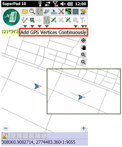 Add vertices automatically