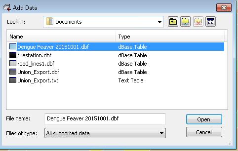Managing Attributes > Adding External Table