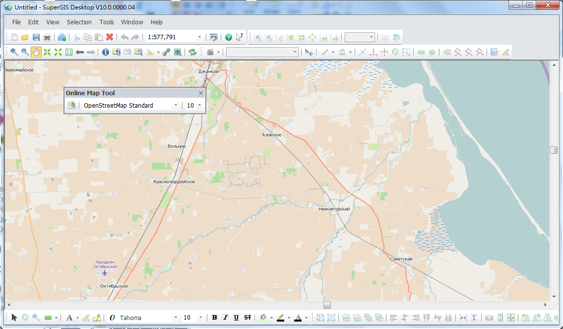 Setting and managing layers online map tool in the meantime the zoom in zoom out and pan buttons on the browsing toolbar can be used to browse map gumiabroncs Gallery
