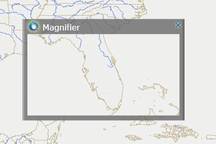 Supergis server manager for gis web application creating supergis magnifier can zoom in specific area by clicking gumiabroncs Gallery