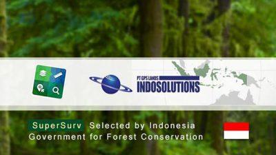 印尼廖內群島省林業部選擇SuperSurv做為GIS調查軟體