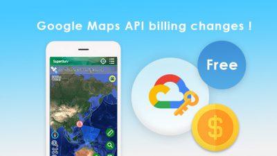 Google線上地圖 API開始計費!