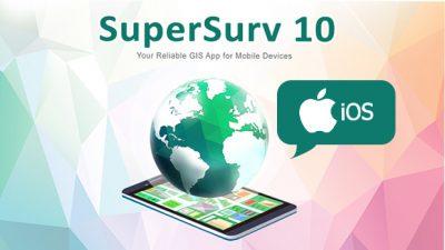 SuperSurv 10-睽違了多年的iOS現地調查系統升級啦!!!