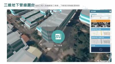 2/3D GIS 管線設施資料庫 雲端整合系統