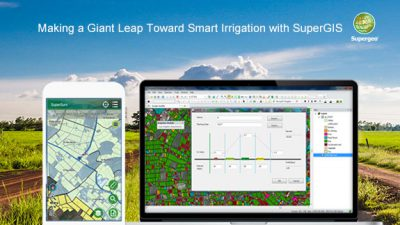 Making a Giant Leap Toward Smart Irrigation with SuperGIS