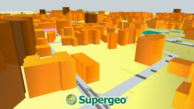 3D Viewshed Will Be Released in the Next SuperGIS Earth Server