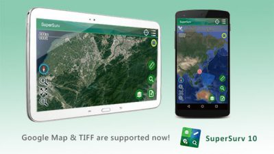 SuperSurv 10.1 Supports New Raster Formats and Online Maps