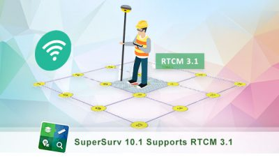 Towards a More Accurate GNSS Positioning – SuperSurv 10.1's Support for RTCM 3.1