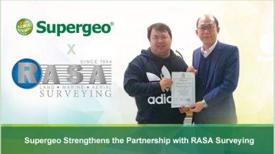 Supergeo Strengthens the Partnership with RASA Surveying