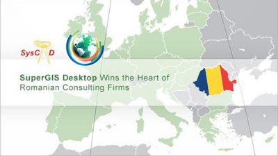 SuperGIS Desktop Wins the Heart of Romanian Consulting Firms