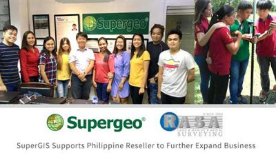 Supergeo Supports Philippine Reseller RASA Surveying to Further Expand Business