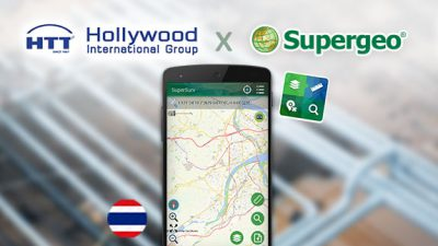 The Pipeline Company in Thailand Applies SuperSurv to Improve the Efficiency of Inspection and Management