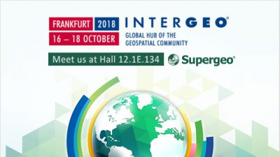 Supergeo Will Be Displaying Its Innovative GIS Products at 2018 INTERGEO Trade Fair