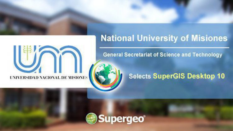 UNAM, Argentina Has Applied SuperGIS Desktop 10 to Elevate the Education about Geospatial Knowledge