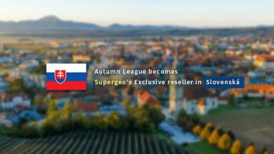 A whole new step for Supergeo. Autumn League join as the exclusive reseller in Slovenská!