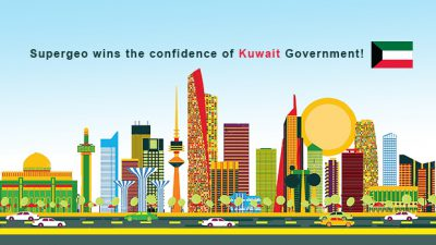 Supergeo wins the confidence of Kuwait Government!