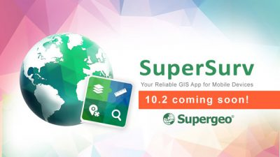 The best solution for precise measurement and rapid survey – SuperSurv 10.2