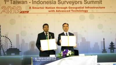 Surveying consultant company in Indonesia has purchased a large number of Taiwan's GIS software, leading surveying and mapping in southern Asia to align with the northern