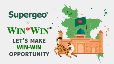 Supergeo keep expanding South-Asia market! Announcing new partnership with Win-Win for exclusive reseller in Bangladesh!
